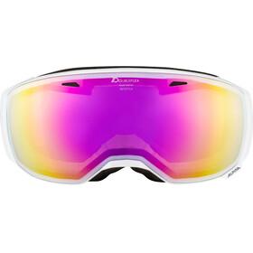 Alpina Estetica MM Goggle white pink spherical